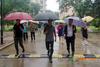 渤海大學領導檢查指導校園防汛工作