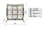 新款 X-COM 便携式 极限飞盘训练 飞盘九宫格