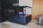 蚁利幻影成像展示系统,3d全息展示柜教学用,科教全息投影柜,360全息投影展示柜科普教育培训展示,教育三维立体动画展示柜