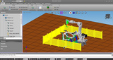 工业机器人离线编程与虚拟仿真系统