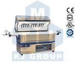 1500℃三温区开启式管式炉OTF-1500X-III