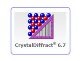 CrystalDiffract   晶体结构分析软件