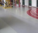 创意设计的健身房地板