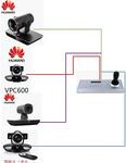华为vpc600视频会议摄像机专用控制键盘