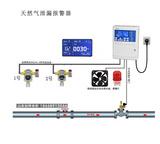 工业天然气管道泄漏检测报警及时切断系统