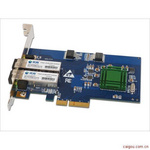 时速科技服务器双光口单模千兆光纤网卡优肯UK-A2GFL