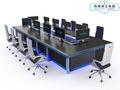 巧夺天工科技品牌  多媒体智能会议桌  ED-PU9503  全金属科技感升降会议桌