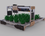天铭科技-智慧农场-二自由度轨道机器人科创教学系统