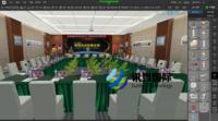 讯狐国际 VR会议布置仿真实践教学系统 助力会展教学实践实训