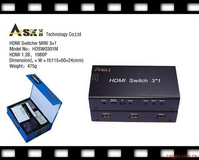 HDMI切换器三进一出