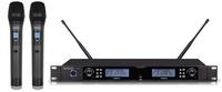 RAINSOUND教育分集会议演讲手持话筒WS-220A一拖二手持麦克风