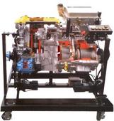 汽車油電混合動力系統解剖模型