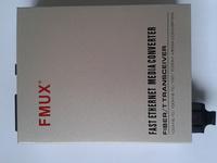 FMUX  FOM-1000S1-N 单模双纤SC 20KM 光纤收发器