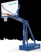 舒華品牌  場地設施  JLG-100A室外移動籃球架