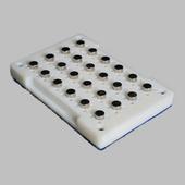 柱形PCR板磁力架KM-96C