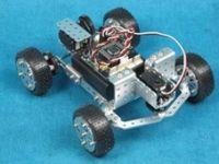 俊原 4WD拼装教学机器人平台 铝合金小车套件 2012最新版