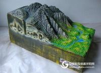 地质地貌模型