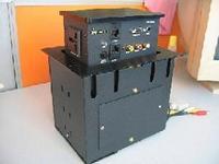 可藏式桌面升降插座wks-205as