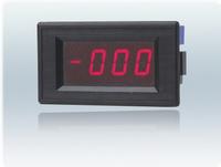 数字面板电压表