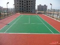 塑胶网球场、青岛塑胶球场