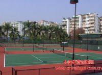 承接硬地弹性丙烯酸、硅PU场地(羽毛球场篮球场网球场排球等)