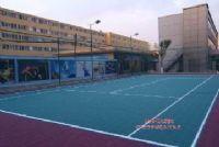 移動式塑膠運動籃球場、網球場