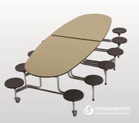 """""""交流者""""移动式可折叠桌"""