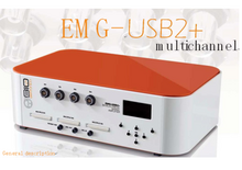 桌面的EMG-USB2 multichannel