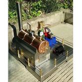 上海实博 ZQM-1大型蒸汽机模型 物理演示仪器 科普设备 科学探究 厂家直销