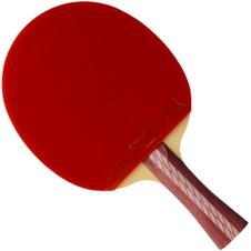 红双喜【DHS】乒乓球拍四星横拍碳素底板R4002C反胶弧圈快攻 单只装