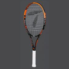 天龙【Teloon】天龙网球拍全碳素一体初学男女学生成人套装 时尚橘 SPACE XIII