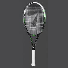 天龙【Teloon】天龙网球拍全碳素一体初学男女学生成人套装 清新白 SPACE XV