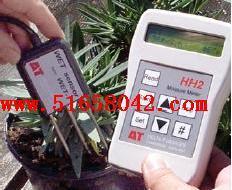 土壤三参数速测仪(土壤含水量、电导率、温度) 型号:HW-WET-3 英国