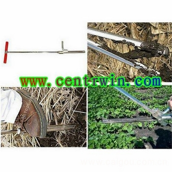 脚踏劈裂式土壤采样器/土钻 型号:FKB-05