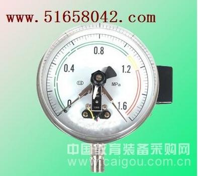 磁助电接点压力表/接点压力表/压力表  型号:JH-YXC-150