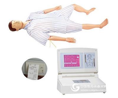 高级电子半身心肺复苏训练模拟人 上海秉恪科教设备有限公司