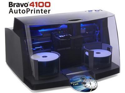 业界最快的光盘打印机—Bravo 4100