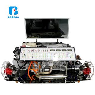 汽车教具 汽车教学实训设备 丰田卡罗拉混合动力全车油电动能模组拆讲实操平台 新能源汽车教具 厂家全国直销