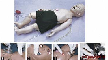 全功能一岁儿童高级护理及CPR模拟人