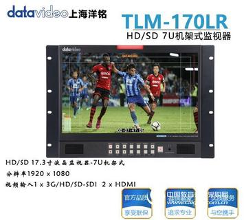 洋铭TLM-170LR HD/SD 17.3寸液晶监视器-7U机架式