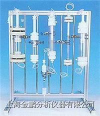 带转换接头高压水冷夹套层析柱