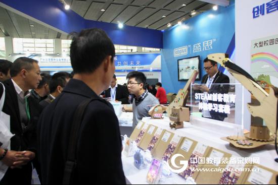 创造让教育更有趣 盛思亮相第73届中国教育装备展示会