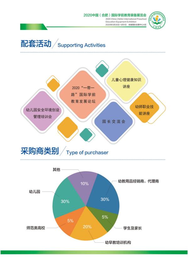 CHPE中国(合肥)国际幼教装备展览会