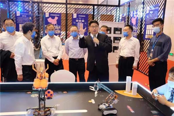 海芽机器人挑战赛亮相第五届世界智能大会