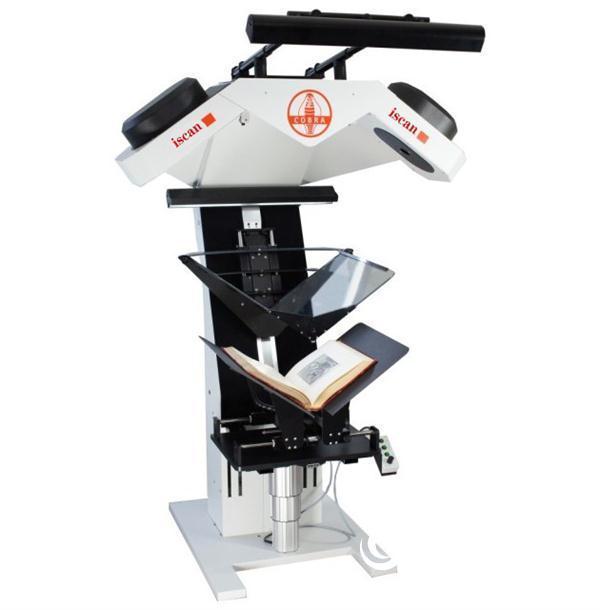 V型古籍书刊扫描仪让休憩的古籍散发魅力