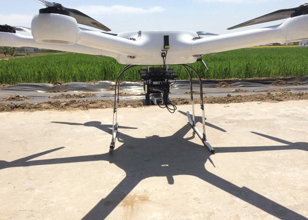 中国地质大学试飞S185机载高光谱成像仪成功