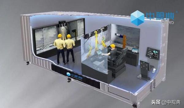 中视典半实物虚拟仿真培训平台助铁建重工惊艳上海宝马展!