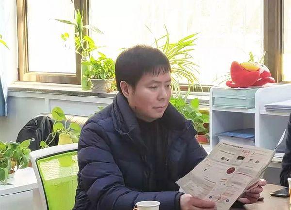 张维建董事长一行到中国体育用品业联合会学校体育工作委员会交流洽谈