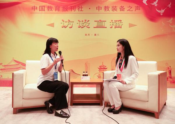 """西顿照明以""""健康、智慧""""为主题亮相第79届中国教育装备展"""