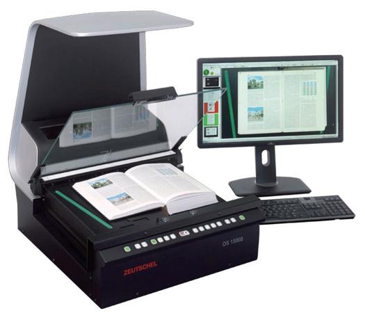 非接触书刊扫描仪专为图书馆设计